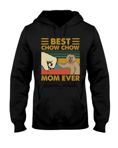 Retro Blue Best Chow Chow Mom Ever