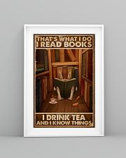 That's What I Do I Read Books Rabbit Tea 16x24 Poster lifestyle-poster-5
