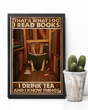 That's What I Do I Read Books Rabbit Tea 16x24 Poster lifestyle-poster-8