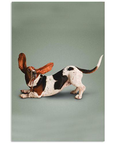 Yoga Pose Basset Hound