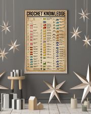 Knowledge Crochet Cheat Sheet 11x17 Poster lifestyle-holiday-poster-1