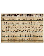 Ashtanga Vinyasa Intermediate Series 17x11 Poster front