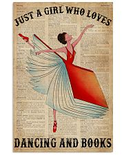 Dictionary Dancing Book Girl 16x24 Poster front