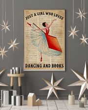 Dictionary Dancing Book Girl 16x24 Poster lifestyle-holiday-poster-1