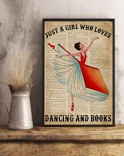 Dictionary Dancing Book Girl 16x24 Poster lifestyle-poster-3