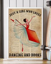 Dictionary Dancing Book Girl 16x24 Poster lifestyle-poster-4
