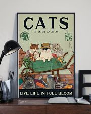 Cats Garden 11x17 Poster lifestyle-poster-2