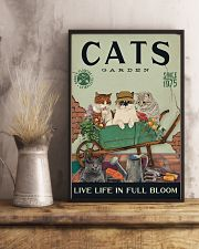 Cats Garden 11x17 Poster lifestyle-poster-3