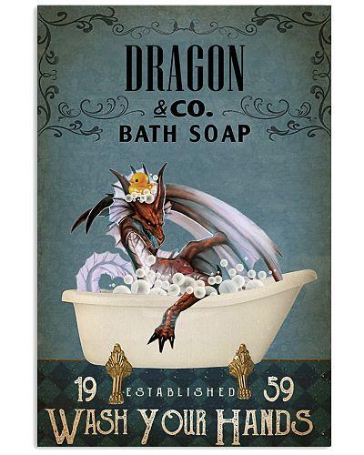 Vintage Bath Soap Dragon