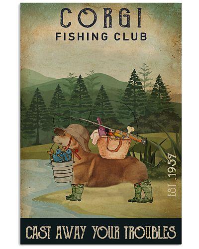 Fishing Cast Away Corgi