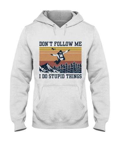 Retro Navy Skydiving Don't Follow Me