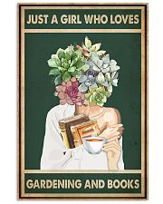 Just A Girl Who Loves Books Tea Garden 11x17 Poster front