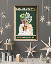 Just A Girl Who Loves Books Tea Garden 11x17 Poster lifestyle-holiday-poster-1