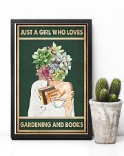Just A Girl Who Loves Books Tea Garden 11x17 Poster lifestyle-poster-8
