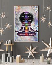I Am Myself Black Girl Yoga 11x17 Poster lifestyle-holiday-poster-1