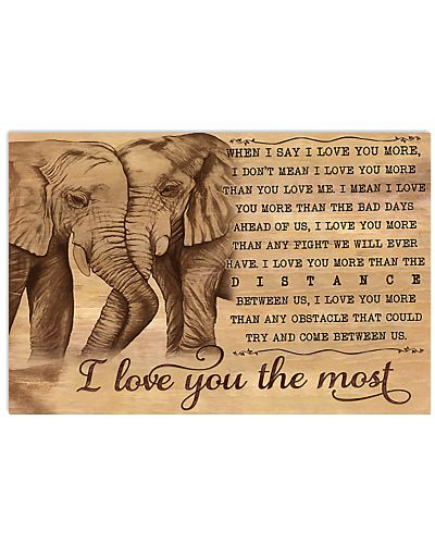 Elephant I Love You The Most