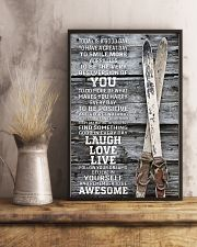 Today Is A Good Day Skiing 16x24 Poster lifestyle-poster-3