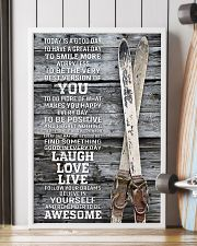 Today Is A Good Day Skiing 16x24 Poster lifestyle-poster-4