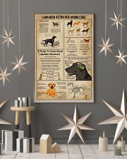 Labrador Retriever Knowledge 11x17 Poster lifestyle-holiday-poster-1