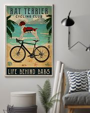 Cycling Club Rat Terrier 11x17 Poster lifestyle-poster-1