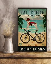 Cycling Club Rat Terrier 11x17 Poster lifestyle-poster-3