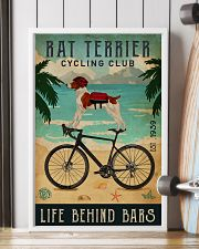 Cycling Club Rat Terrier 11x17 Poster lifestyle-poster-4