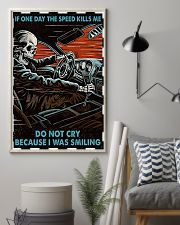Skeleton Racing If One Day The Speed Kill Me 16x24 Poster lifestyle-poster-1