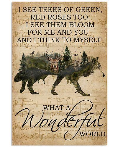 Music Sheet Wonderful World Wolf