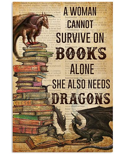 A Woman Survive On Books And Dragons