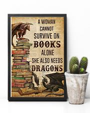 A Woman Survive On Books And Dragons 11x17 Poster lifestyle-poster-8