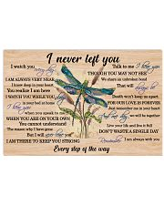 Never Left You Dragonfly 24x16 Poster front
