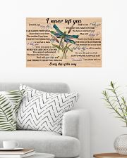 Never Left You Dragonfly 24x16 Poster poster-landscape-24x16-lifestyle-01