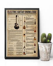 Electric Guitar Knowledge Instrument 11x17 Poster lifestyle-poster-8