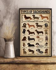 Types Of Dachshunds Dog 11x17 Poster lifestyle-poster-3