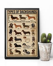 Types Of Dachshunds Dog 11x17 Poster lifestyle-poster-8