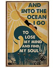 And InTo The Ocean I Go Swimming 11x17 Poster front