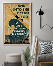 And InTo The Ocean I Go Swimming 11x17 Poster lifestyle-poster-1