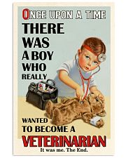 Once Upon A Time Veterinarian Boy 16x24 Poster front