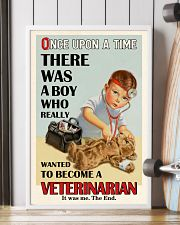 Once Upon A Time Veterinarian Boy 16x24 Poster lifestyle-poster-4