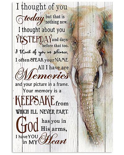 Elephant I Thought Of You