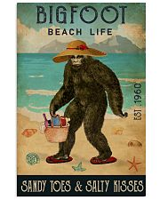 Beach Life Sandy Toes Bigfoot 11x17 Poster front