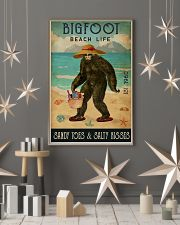 Beach Life Sandy Toes Bigfoot 11x17 Poster lifestyle-holiday-poster-1