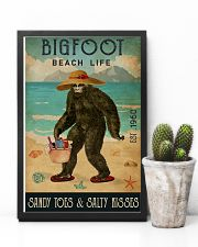 Beach Life Sandy Toes Bigfoot 11x17 Poster lifestyle-poster-8
