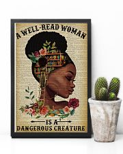 Dangerous Creature Black Girl Reading 11x17 Poster lifestyle-poster-8