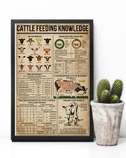 Cattle Feeding Knowledge 11x17 Poster lifestyle-poster-8