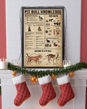 Pit Bull Knowledge 11x17 Poster lifestyle-holiday-poster-4
