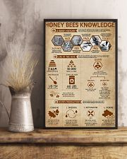 Honey Bees Knowledge Bee 11x17 Poster lifestyle-poster-3