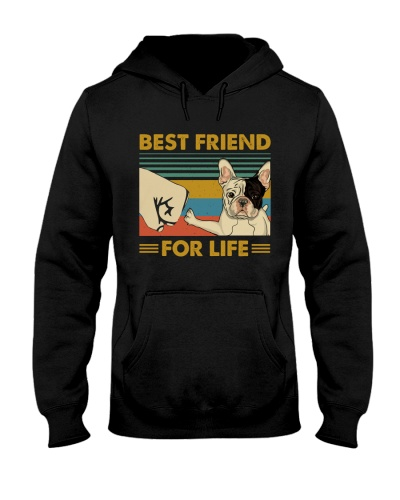 Retro Blue Best Friend For Life French Bulldog