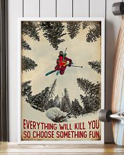 Choose Something Fun Skiing 16x24 Poster lifestyle-poster-4