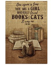 Pallet Dictionary Books Cats Once Upon A Time 11x17 Poster front